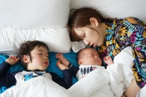 産後,骨盤,寝方